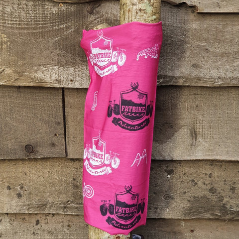 Fatbike Adventures Original Buff - Pink