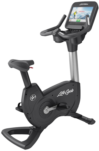 Life Fitness 95CS Upright Exercise Bike With Discover SE Console