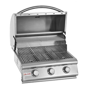 "Blaze 25"" 3-Burner Built-In Grill"