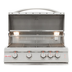 "Blaze 32"" 4-Burner LTE Built-In Grill"
