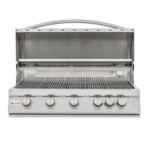 "Blaze 40"" 5-Burner LTE Built-In Grill"