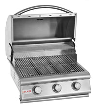 "Load image into Gallery viewer, Blaze 25"" 3-Burner Built-In Grill"