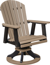 Load image into Gallery viewer, Swivel Rocker Adirondak Dining Chair