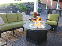 "Load image into Gallery viewer, Garden Propane 44"" Round Fire Pit"