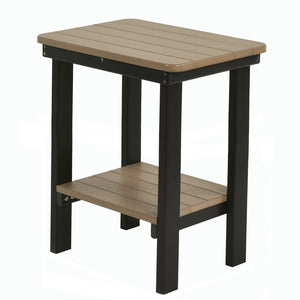 Rectangular End Table Bar Height