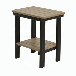 Rectangular End Table Counter Height