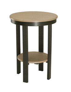 Round End Table - Dining Height