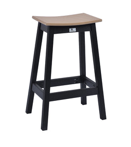 Bar Stool - Saddle Seat