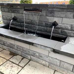 Verona Spout Wall Water Feature Kit