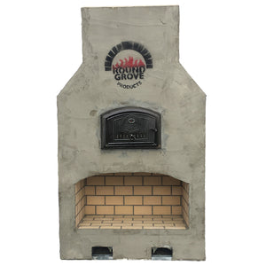 The Shaker Fireplace/Brick Oven Combo Kit