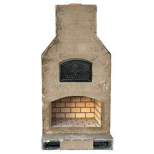 The Shoreway Fireplace/Brick Oven Combo Kit