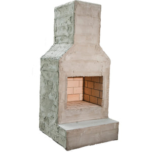 The Short North Outdoor Fireplace Kit