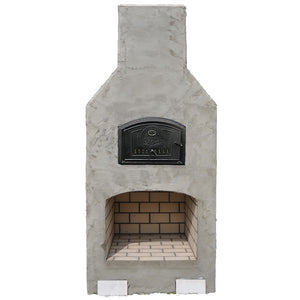 The West Park Fireplace/Brick Oven Combo Kit