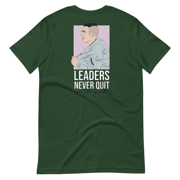 Leaders never quit - XXL