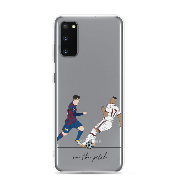 Messi y Boateng - Samsung