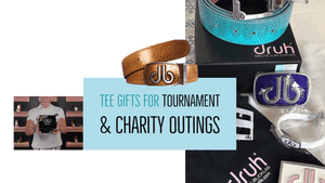 golf tee gifts for tournaments and charity golf outings
