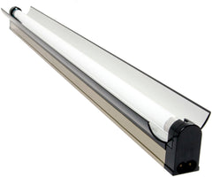 Jump Start T5 24W 2' Strip/Reflector Fixture with Lamp, for Modular Systems