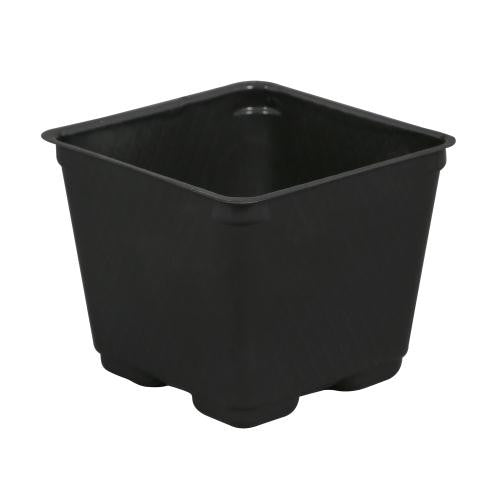 Traditional Square Pots - Blow Molded 4""
