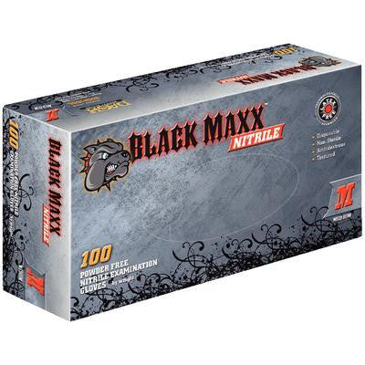 Black Maxx Nitrile Gloves