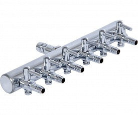 Active Aqua 6-Outlet Metal Air Manifold