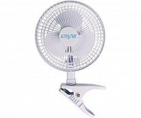 "Active Air 6"" Clip Fan, 25W"