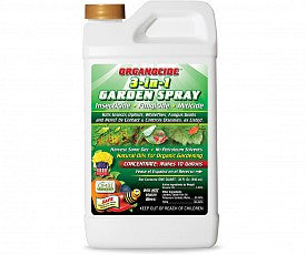 Organocide 3-in-1 Garden Spray Concentrate, 1 qt