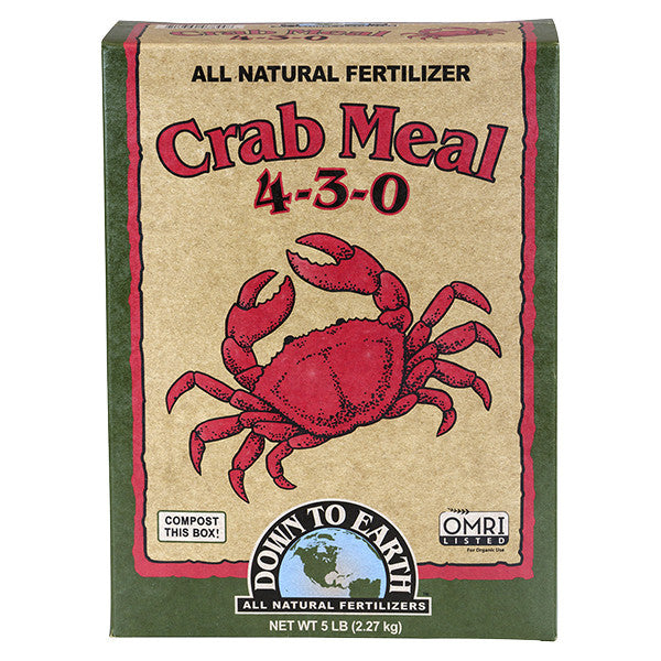 Down To Earth™ Crab Meal 4 - 3 - 0
