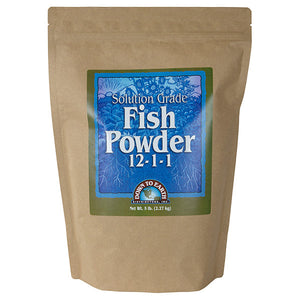 Down To Earth™ Fish Powder 12 - 1 - 1