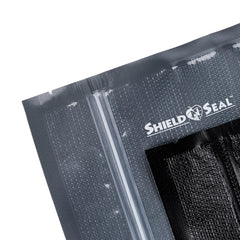Shield-n-Seal Clear and Black Zipper Vacuum Sealer Bags