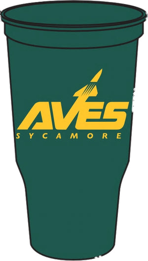 AVES logo Grandstand Stadium Cup - Green