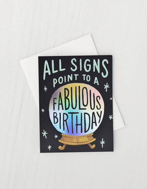 All Signs Birthday Card