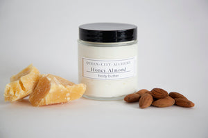 Queen City Alchemy Honey Almond Body Butter