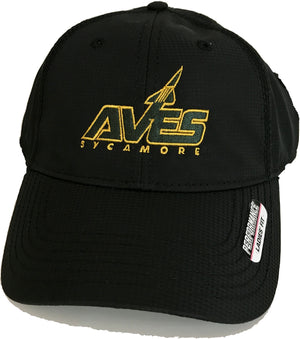 Ladies' AVES Logo Hat in Black - CLEARANCE $9.99