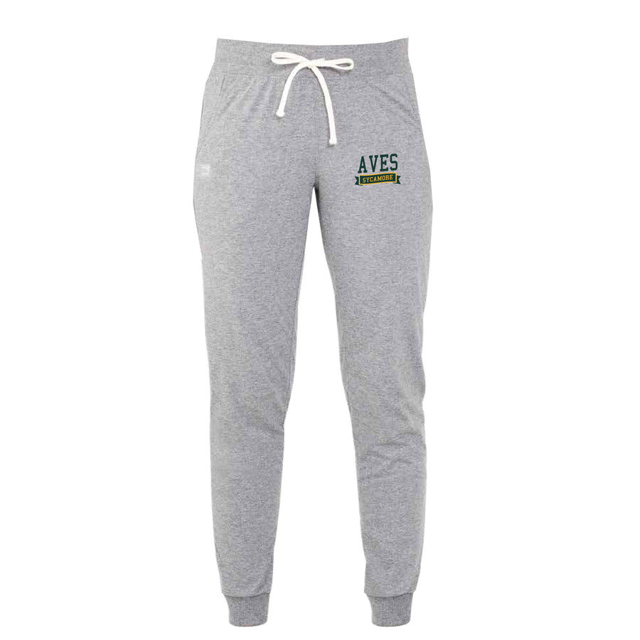 Ladies Essential Jogger by Russell Athletics in Oxford Gray