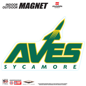 AVES Logo Indoor/Outdoor Magnet