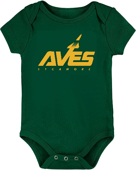 School Spirit Baby Onesie - CLEARANCE $5