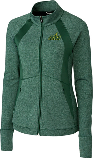 Ladies Shoreline Colorblock Full-Zip Jacket by Cutter + Buck