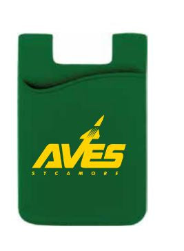 Aves Logo Cell Phone Wallet/ID Holder