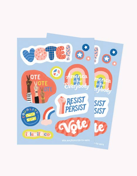 Voter 24 Stickers