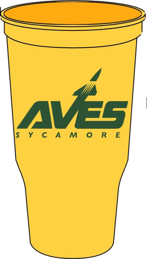 AVES Logo Grandstand Stadium Cup - Athletic Gold