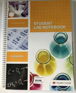 Lab Notebook for AP Chemistry/AP Biology