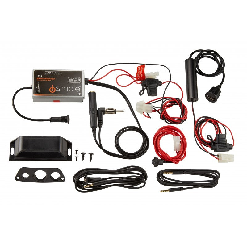 AUX and USB Installation Kit