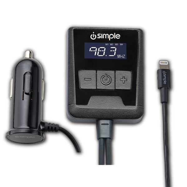 FM Transmitter Made for iPhone, iPad, iPod