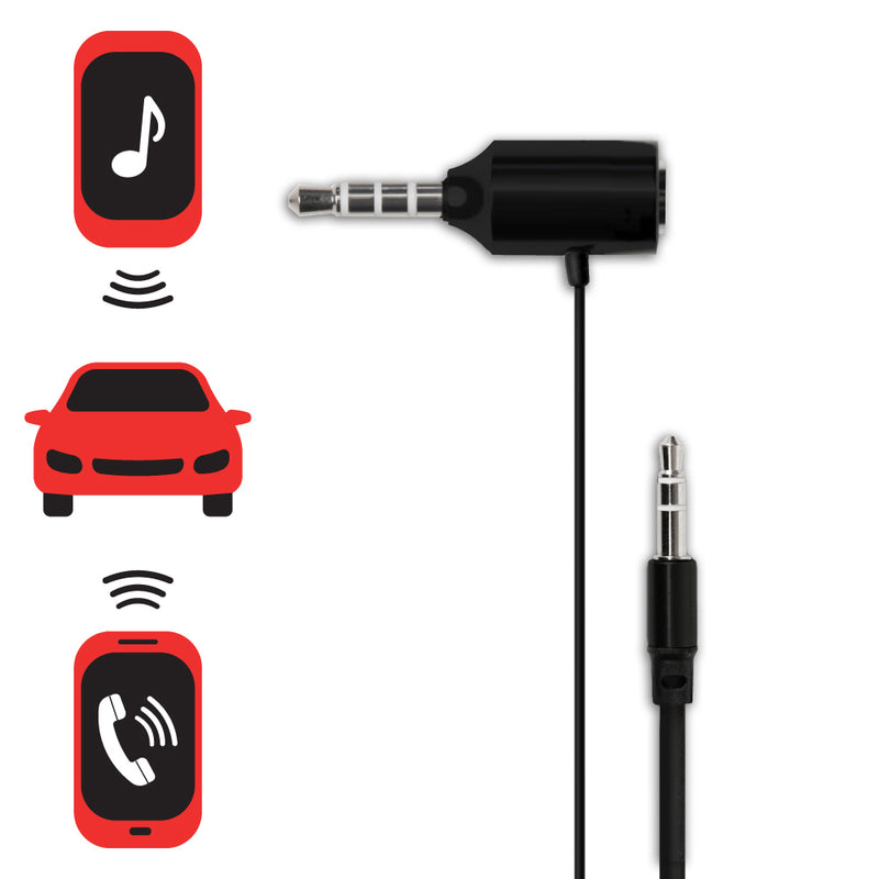 3.5mm to 3.5mm Hands-free Calling & Music Streaming Vehicle Cable