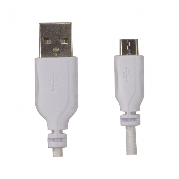 USB TO MICRO USB CABLE - WHITE