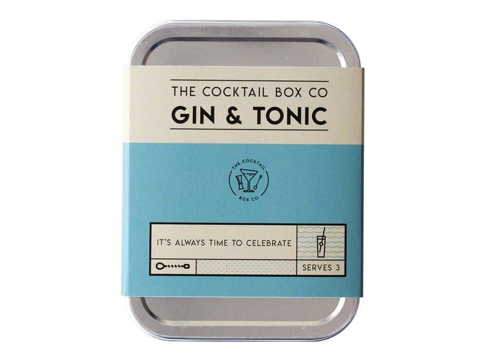 The Gin & Tonic Cocktail Kit - 1 Kit