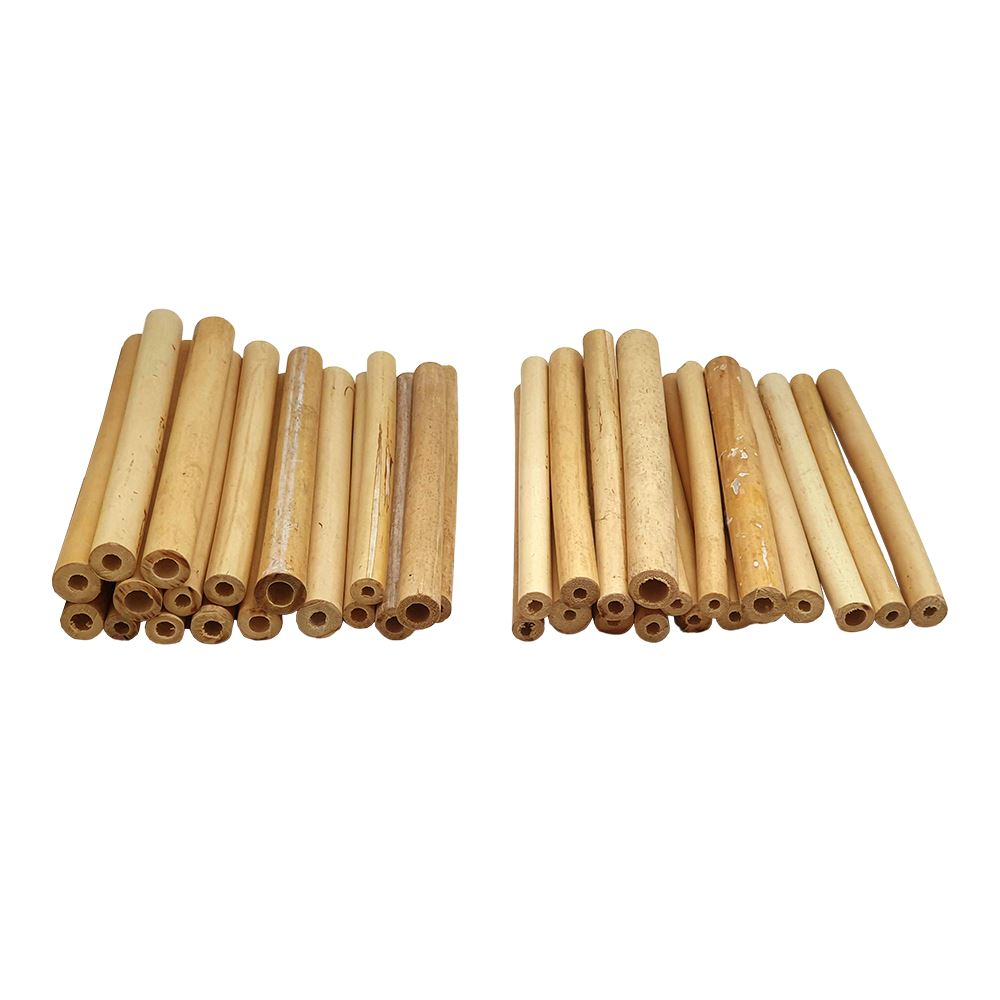 Vie Naturals Bamboo Tubes for Bees, 15cm, 100 pcs