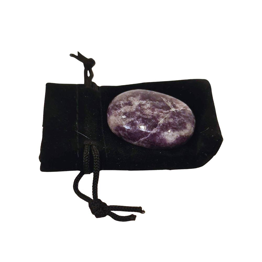 Vie Naturals Worry Thumb Stone, Lepidolite, Arts & Entertainment by Global 1st