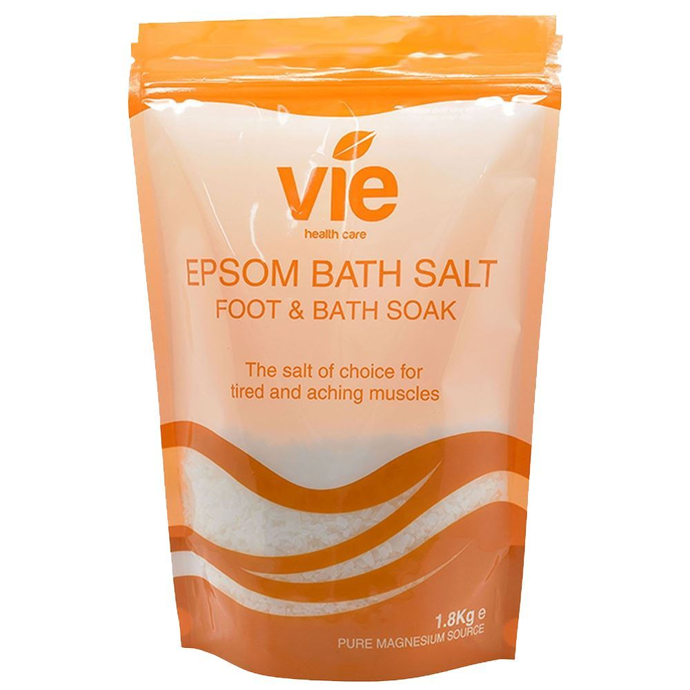 Vie Healthcare Epsom Salts, Resealable Pouch