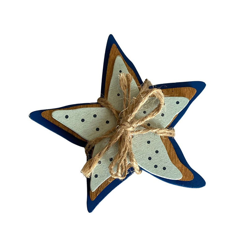 Vie Naturals Starfish Tied with String, 15cm